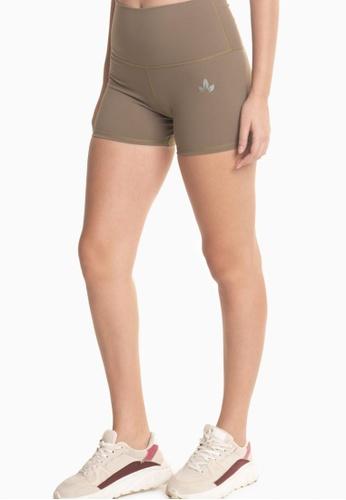 Lotus Activewear green Spin Shorts Cycling Shorts 11F7AAA6154916GS_1