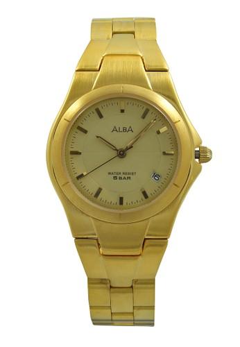ALBA gold ALBA Jam Tangan Pria - Gold - Stainless Steel - AXDE26  AL383AC0UE0XID 1 03aa8afe50