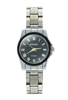 KNUODE Classic Women's Silver Stainless Steel Strap Wrist Watch K1045-BL