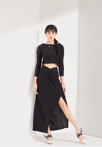 Zafiti black 2 Piece Set Dress F60D3AA461DD09GS_1