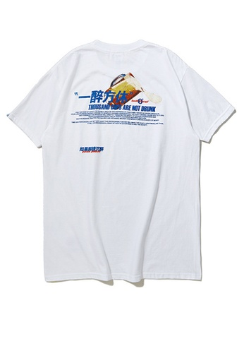 Twenty Eight Shoes BEER Series Printed Short T-Shirt 91901S C4956AA91992C0GS_1