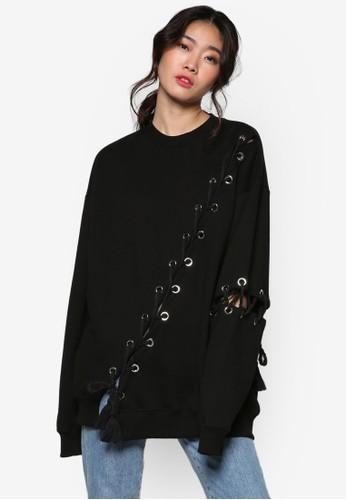 韓國時esprit 尖沙咀尚縫合流蘇長袖衫, 服飾, 外套