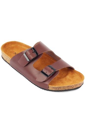 Navara brown Navara Almo Brown Leather - Coklat NA564SH67XIEID_1