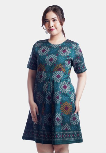 AlmiRangga green Khaira Dress 1C26EAA571B11BGS_1