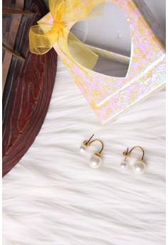 Hanging Pearl Earrings