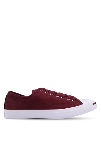 cc7114a1ac4 Converse red Jack Purcell Jack Leather Ivy Campus Colors Ox Sneakers  CB270SHCC18D86GS 1