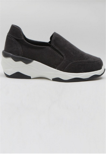 Crystal Korea Fashion grey Korean New Versatile Comfortable Casual Shoes C3403SH1FE6C42GS_1