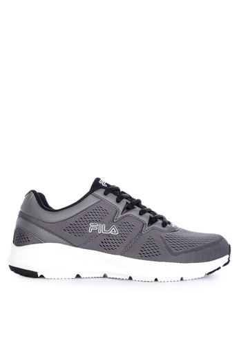 Fila grey Adaptable Running Shoes B57CCSH5241F7DGS_1