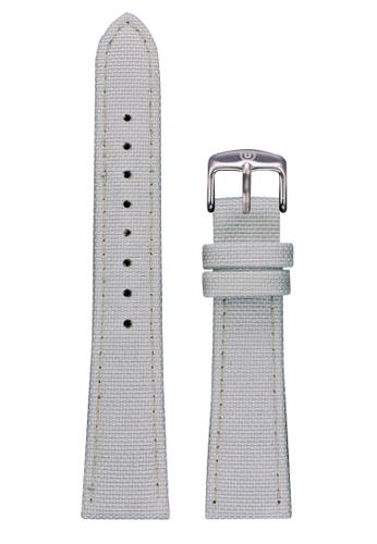 Undone white Undone White Cordura Strap 20mm (Silver Buckle) UN712AC2VEJFHK_1