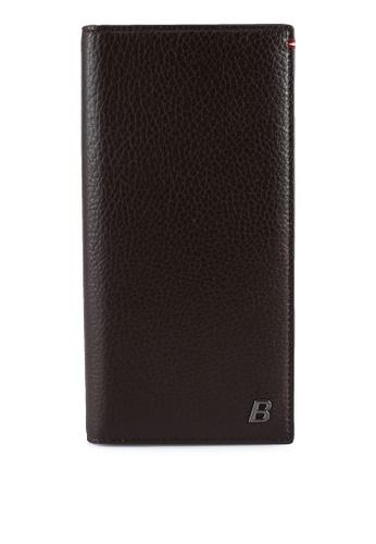 BALLY brown Baliro MBO Wallet 83B09ACF1CB5F8GS_1