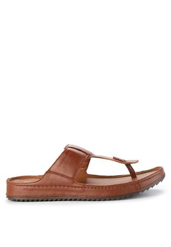 Obermain brown Gefen Jaxson - Flip Flop 5C103SHF9C96C1GS_1
