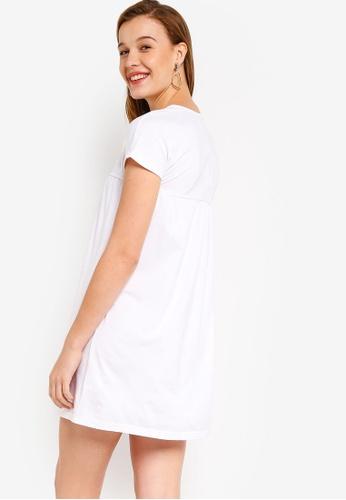 Buy ZALORA BASICS Basic Smock Dress Online