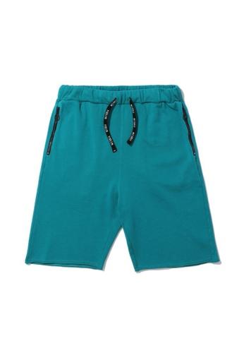 Fivecm green Drawstring sweat shorts A2CC6AA7C8EC6EGS_1
