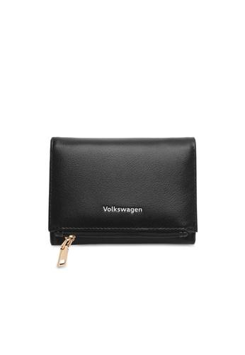 Volkswagen black Faux Leather Short Purse EF367AC5359B9CGS_1