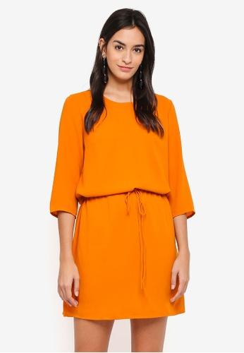 ONLY orange Malu Chloe Dress 0169EAABB72E58GS_1