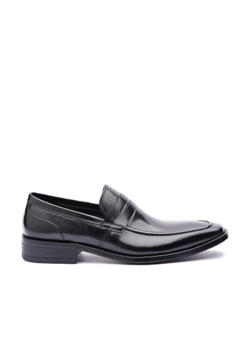 Kings Collection black Parigi Classic Loafer A6FE6SHDAAD82FGS_1