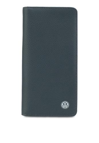 Volkswagen blue Volkswagen Bi-Fold Long Wallet VO089AC59GKIMY_1