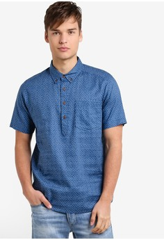 Image of Back Step Pullover Polo Shirt