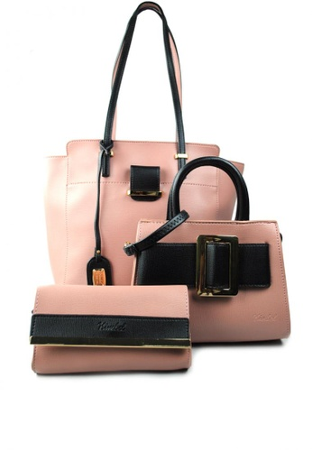 Shop Kimbel International HGZ8068A 3in1 Ladies Bag Online on ZALORA ... d497b33cae01c