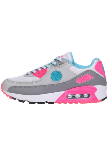 paperplanes Paperplanes-1101 Fashion Colorful Air Cushion Trendy Sneakers Shoes US Women Size PA110SH18ZOFHK_1