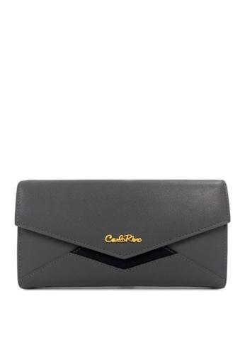 Carlo Rino grey Carlo Rino 0304077A-501-18 Wallet (Dark Grey) 0E233AC320BC24GS_1