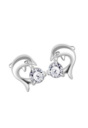 SC Tom Silver silver Stud Stone Earrings-ESS065 SC872AC77JZUPH_1