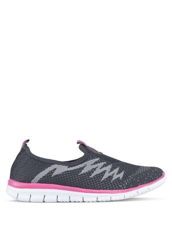 Spiffy grey Ladies Sport Shoes 76502SHF3D6EBBGS_1