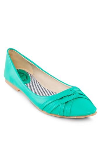 雙蝴蝶結平底鞋, 女鞋, 芭蕾esprit品牌介绍平底鞋