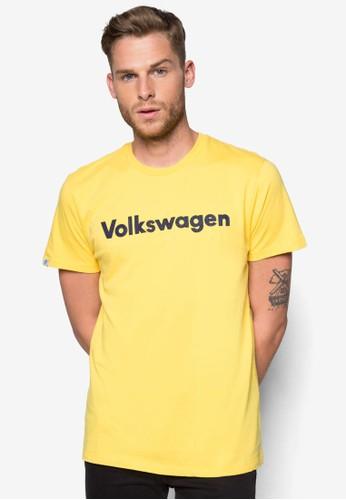 esprit outlet 高雄品牌標誌文字Tee, 服飾, 印圖T恤