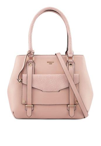Dune London pink Large Shoulder Bag 004A0ACE05C24DGS_1
