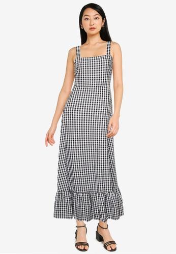 ZALORA BASICS multi Tie Back Cotton Dress 89D86AA1E607E0GS_1