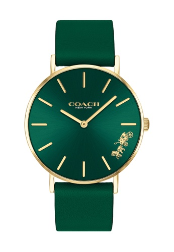 Coach green Coach Perry Green Women's Watch (14503383) C8C10AC7F593BEGS_1