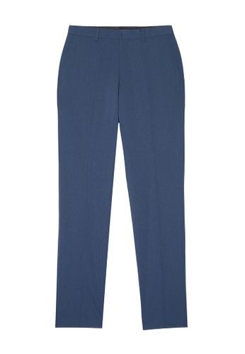 D'urban blue Straight Leg Dress Pants 29916AAD860B3CGS_1