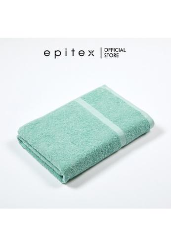Epitex green Epitex Sofuto 100% Cotton Bath Towel - Gym Towel Soft Towel - Comfortable Towel - Big Towel (Mint) 34D98HL0C49EC9GS_1