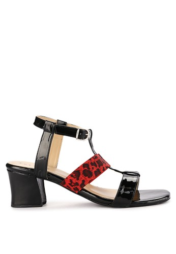 Totally black and multi Chunky Heels By Edd 2 D0685SH5CCE60DGS_1