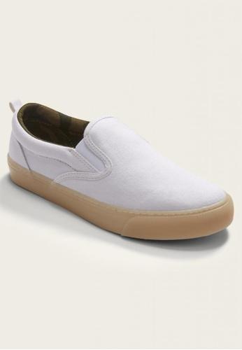 Old Navy white Canvas Slip-On Sneakers for Boys 562BBKS565E4E4GS_1
