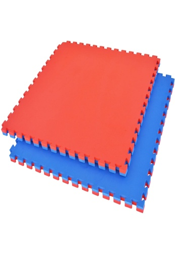 LIVE UP AND LIVE PRO. red and blue EVA Foam Tatami Mat - 40mm (Red & Blue) E7613SED7FB997GS_1