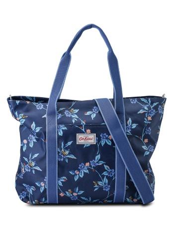 Cath Kidston blue Greenwich Flowers Core Tote Nappy Bag 3029AKCFF3D927GS_1