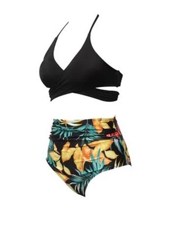 Twenty Eight Shoes black VANSA Ruffle Bikini Parent-child Swimsuit VCW-Sw01801B 6FCFEUS2D2EBD0GS_1