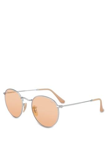ff964acc3ec27 Buy Ray-Ban Round Metal RB3447 Sunglasses Online on ZALORA Singapore