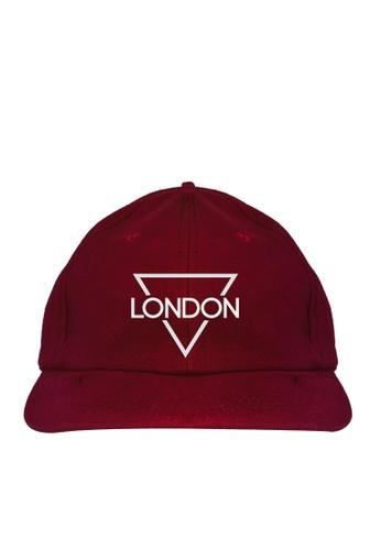 HYPE MNL red London Baseball Cap 7FA11ACE9E513FGS_1
