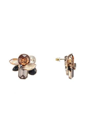 ALDO 褐色 Brocla 耳環 C1FAAAC83386A9GS_1