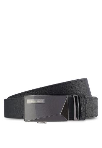 Swiss Polo black Swiss Polo 35mm Automatic Belt SW912AC29PICMY_1