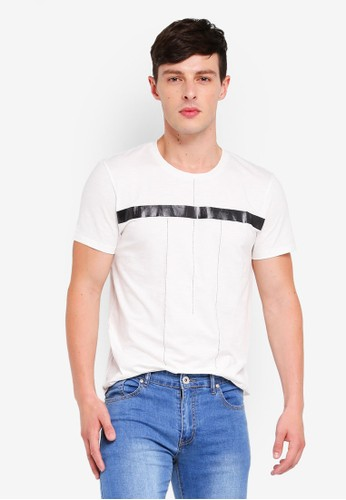 Fidelio white Line Simplicity Tee 196F6AA7211B97GS_1