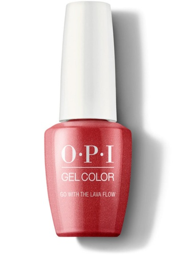 O.P.I GCH69A - GelColor - Go with the Lava Flow 15mL 6D525BE225A793GS_1