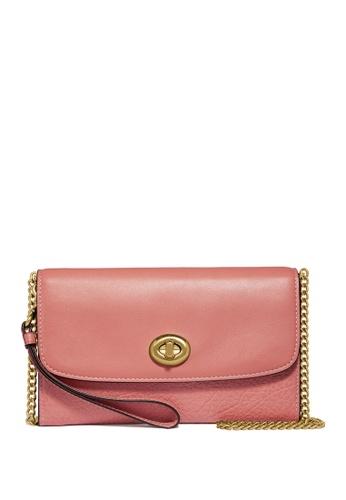 Coach red Chain Crossbody Bag (cv) D02AEAC9408749GS_1