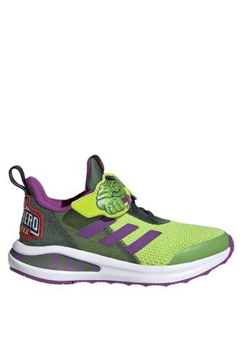 ADIDAS 綠色 fortarun super hero shoes DB2B8KS5252A79GS_1