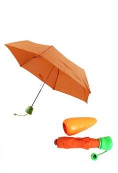 Carrot Folding Umbrella