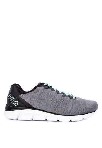 FILA grey Memory Upsurge Running Shoes 8BC37SHD838CEDGS_1
