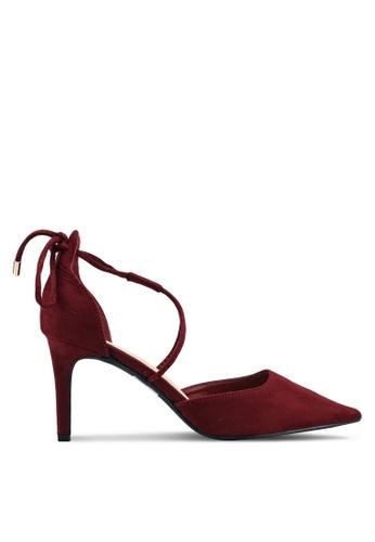 Something Borrowed red Pointed Heels 7D81ESHF12EAC5GS_1